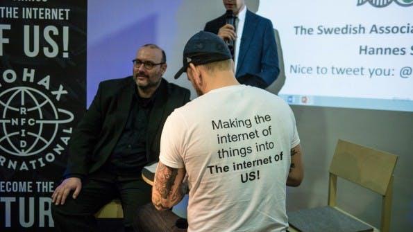 Ein passendes Motto für die Biohacker-Bewegung. (Foto: t3n)