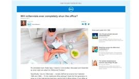 Dell Advertorial (Screenshot: nytimes.com)