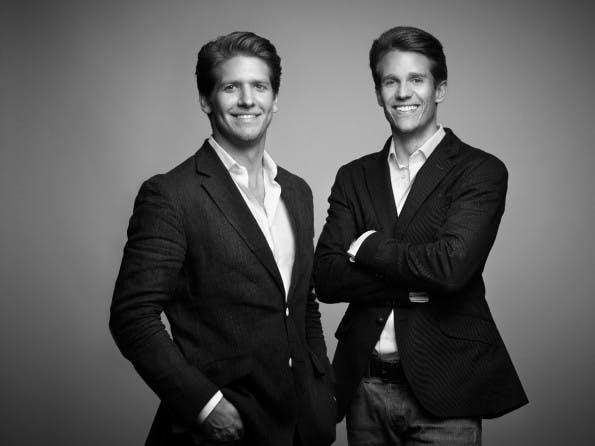 Die DailyDeal-Gründer Fabian (links) und Ferry Heilemann. (Foto: Sky & Sand)