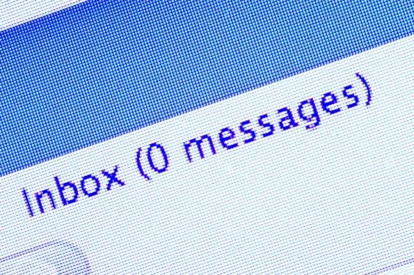 """Fehler im Umgang mit E-Mails: Wir wollen doch alle den """"Inbox-Zero""""-Moment, oder? (Grafik: Shutterstock-GreenStockCreative)"""