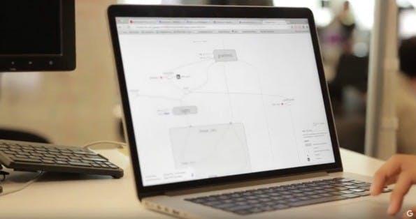Machine-Learning: TensorFlow verarbeitet große Datenmengen. (Screenshot: Google)