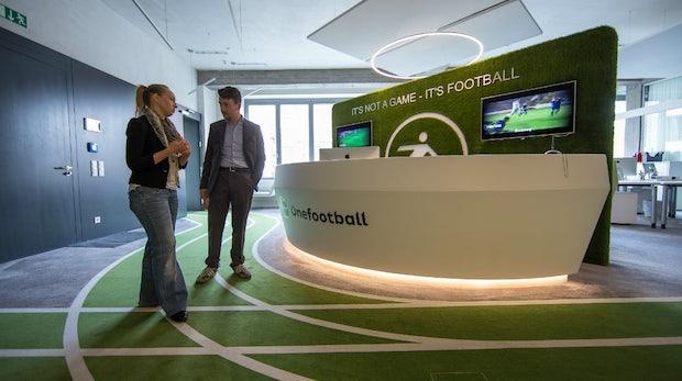 Onefootball: Dieses Startup-Büro ist der Traum eines Fußballfans