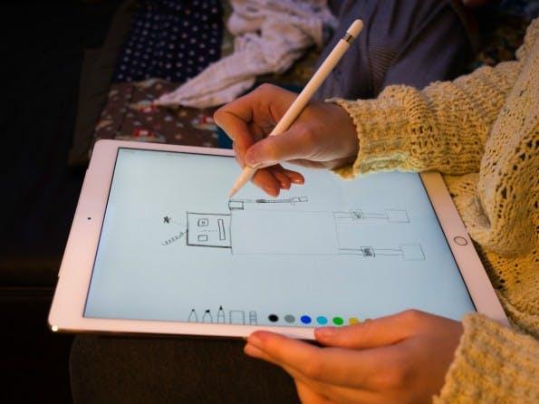 Mit dem Apple Pencil spricht das Unternehmen besonders Designer und andere Kreative an. (Foto: t3n)