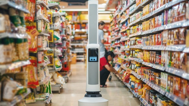 Roboter, bitte in Gang 1: Tally bringt das Supermarkt-Sortiment auf Vordermann