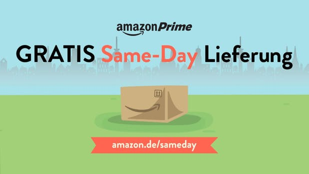 Amazon startet Same-Day-Delivery in Deutschland