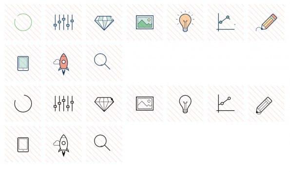 Auf Animaticons findet ihr animierte Icons für euer nächstes Projekt. (Screenshot: animaticons.co)