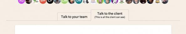 Mit Clients im Basecamp 3 zusammenarbeiten. (Screenshot: Basecamp)