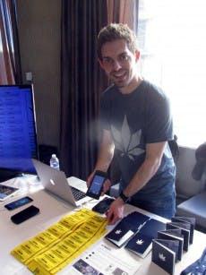 Kyle Sherman, CEO von Flowhub. (Foto: Jutta Maier)