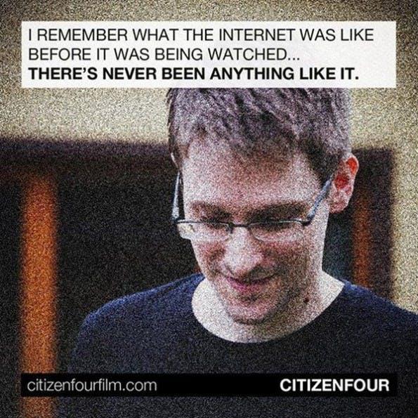 """""""Citizenfour"""": Die ARD zeigt den Dokumentarfilm über Edward Snowden. (Grafik: Praxis Films)"""
