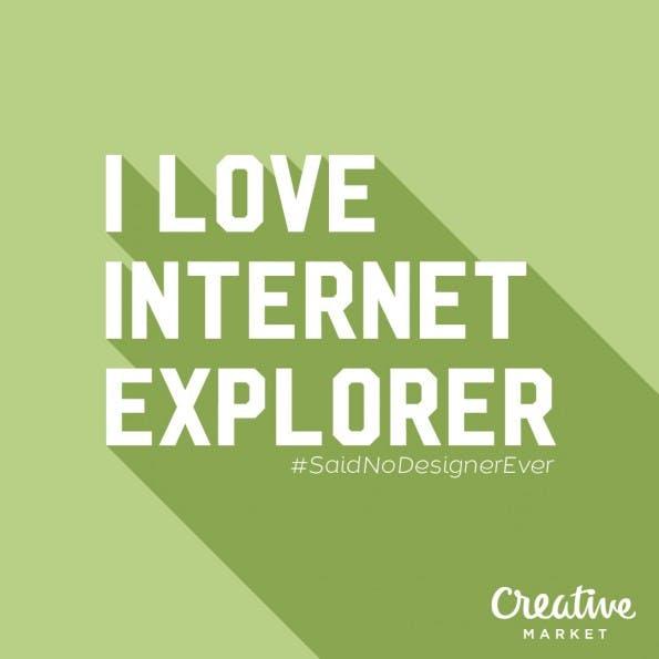 Dinge, die Designer NIEMALS sagen würden. (Grafik: CreativMarket.com)