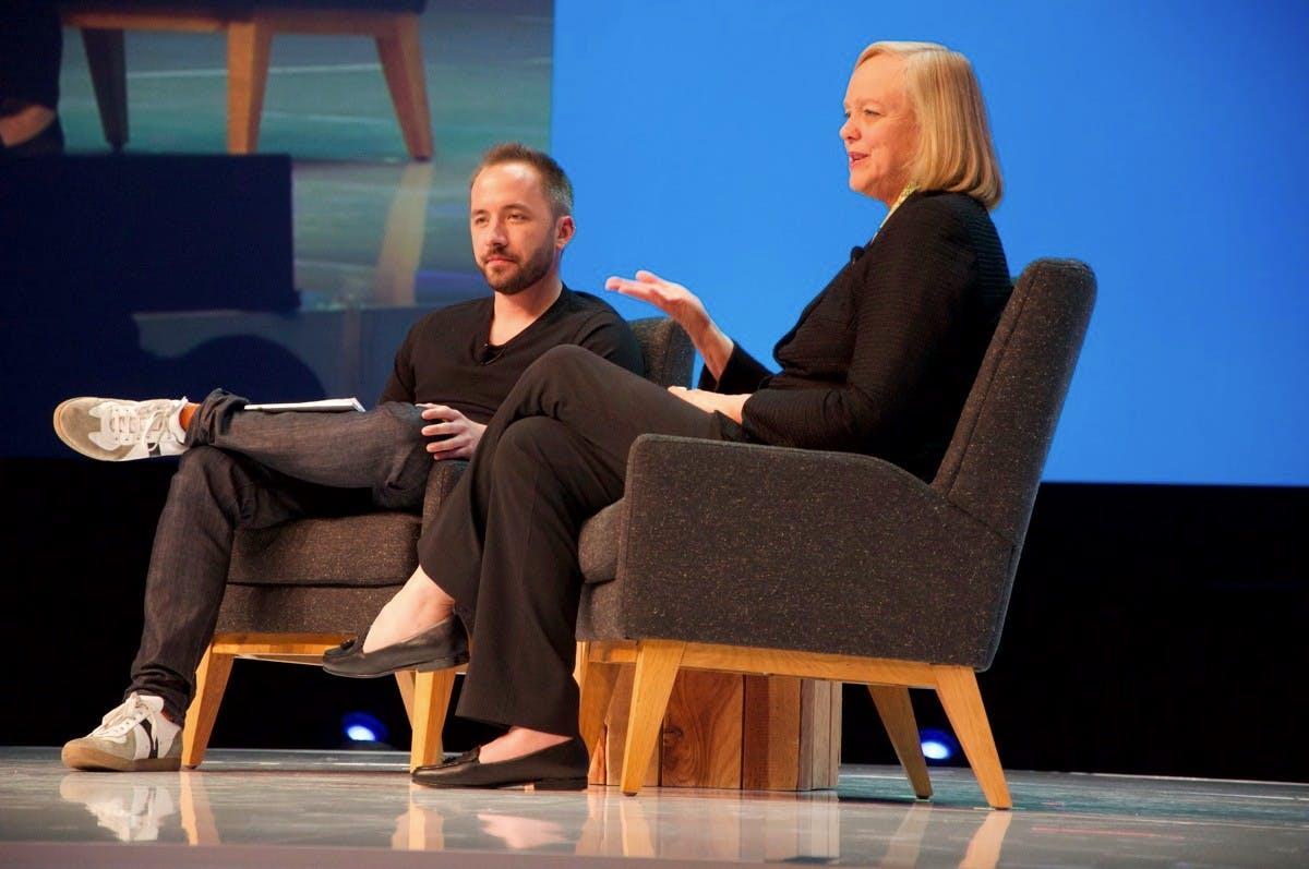 """""""Dieser Markt verändert sich mit Lichtgeschwindigkeit!"""" HP-Chefin Meg Whitman über ihr """"neues"""" Unternehmen"""