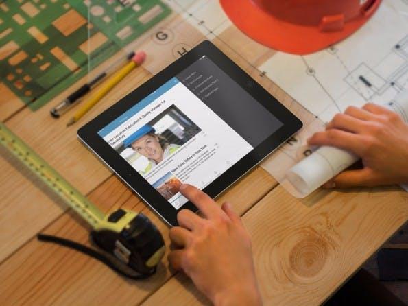"""Die Eyo-Mitarbeiter-App soll auch die """"Non-Desk-Workers"""" erreichen. (Foto: Eyo)"""