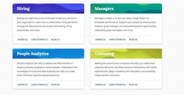 Google re:Work bietet Tipps, Case Studies und mehr zur für die Verbesserung des Arbeitsplatzes. (Screenshot: Google)