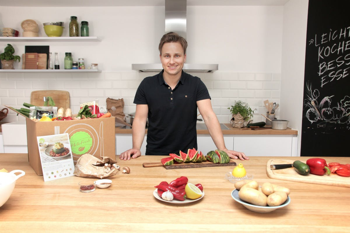 Hellofresh-Chef Dominik Richter. (Bild: Hellofresh)