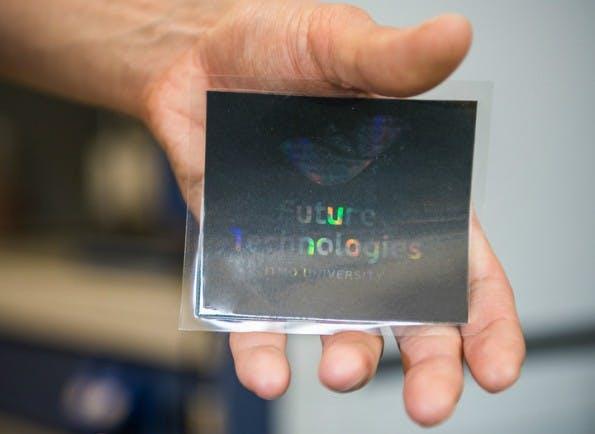 So könnten die neuartigen Hologramme aus dem Tintendrucker aussehen. (Bild: ITMO University)
