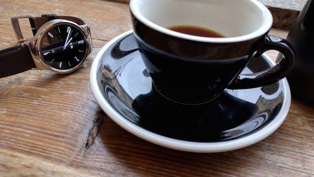 Edle und schicke Android-Wear-Smartwatch: die Huawei Watch (Foto: t3n)