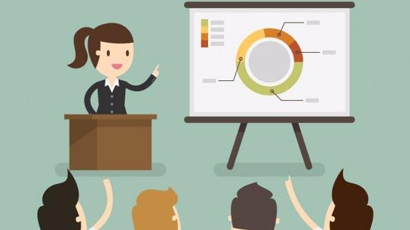 Powerpoint und Keynote: Hier findet ihr Templates und Vorlagen für Präsentationen. (Grafik: Shutterstock)