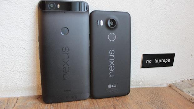 Nexus 6P und Nexus 5X im Vergleich