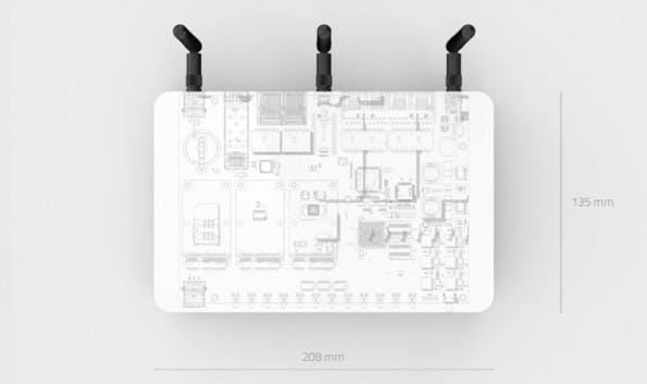 Offener Router: Hard- und Software von Turris Omnia sollen unter einer Open-Source-Lizenz veröffentlicht werden. (Grafik: Indiegogo)