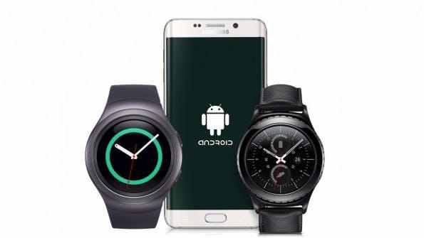Die neue Samsung-Smartwatch Gear S3 soll wie der Vorgänger über eine Lünette steuerbar sein. (Bild: Samsung)