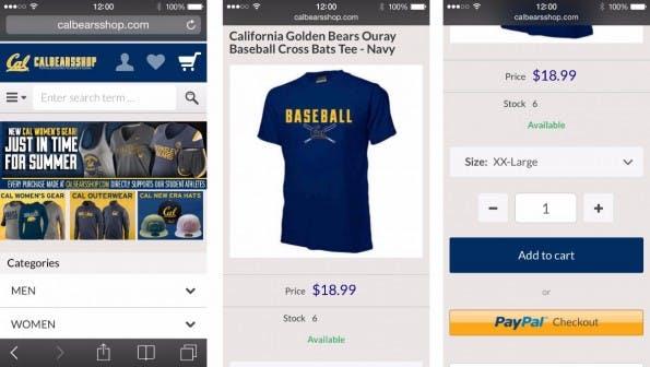 (Screenshots: Shopgate)