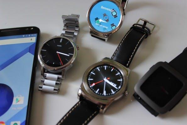 Android Wear-Smartwatches gibt es in vielen Ausführungen. (Foto: t3n)