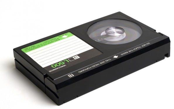 Betamax: Sony stell den Verkauf der Kassetten nach 40 Jahren ein. (Foto: Shutterstock)