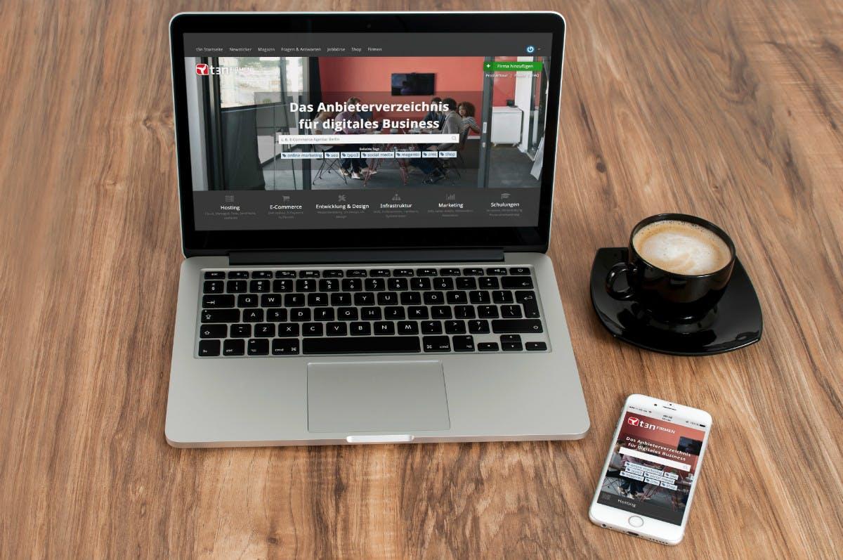 """Endlich da! t3n launcht mit """"t3n Firmen"""" deutsches Anbieterverzeichnis der Digitalbranche"""