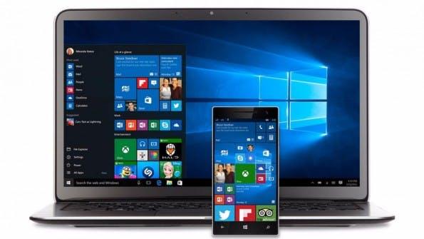 Datenkrake: Windows 10 trackt trotz aller Gegenmaßnahmen weiter. (Bild: Microsoft)