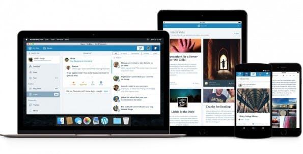 """Das neue WordPress.com Codename """"Calypso"""" ist Mobile-First und Open Source. (Bild: WordPress)"""