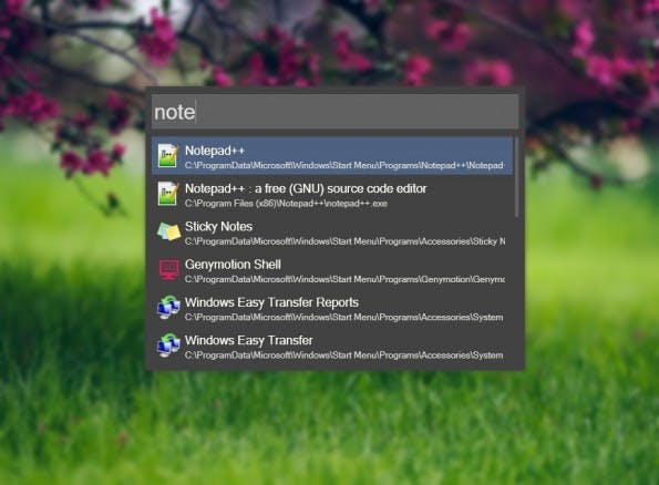 Alfred-Alternative für Windows: Wox könnt ihr mittels Plugins erweitern. (Screenshot: Wox)