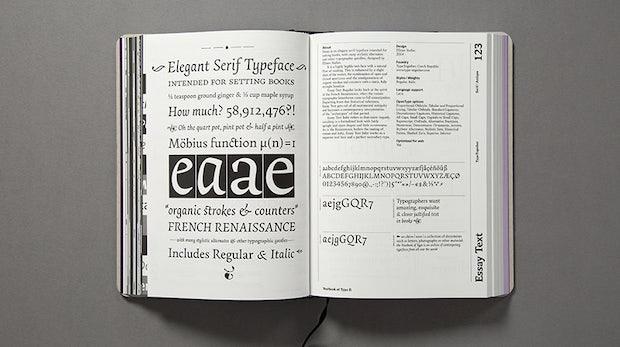 """Das """"Yearbook of Type"""" zeigt die schönsten Schriftarten aus 2015"""
