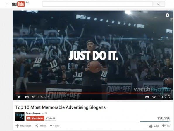 WatchMojo zeigt dir die 10 unvergesslichsten Werbe-Slogans aller Zeiten. (Screenshot: Youtube)