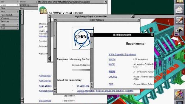 25 Jahre World Wide Web: So sah die erste Webseite der Welt aus [Bildergalerie]
