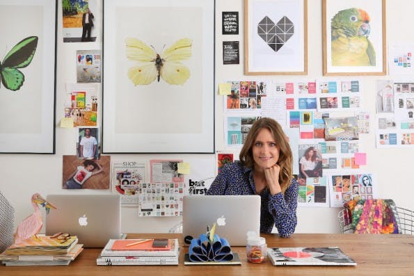 Das Startup-Jahr 2015: Juniqe-CEO Lea Lange macht das Beste aus dem Mindestlohn, wünscht sich aber Anpassungen. (Foto: Juniqe)