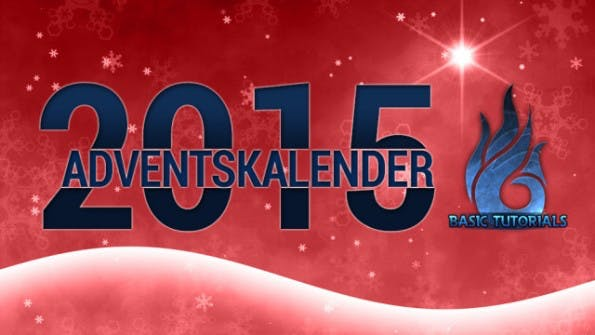 Adventskalender-Basic Tutorial