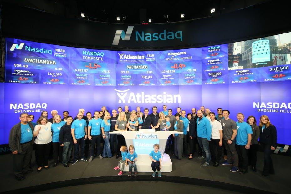 So hat Atlassian sich bei seinem Börsendebüt geschlagen [Startup-News]