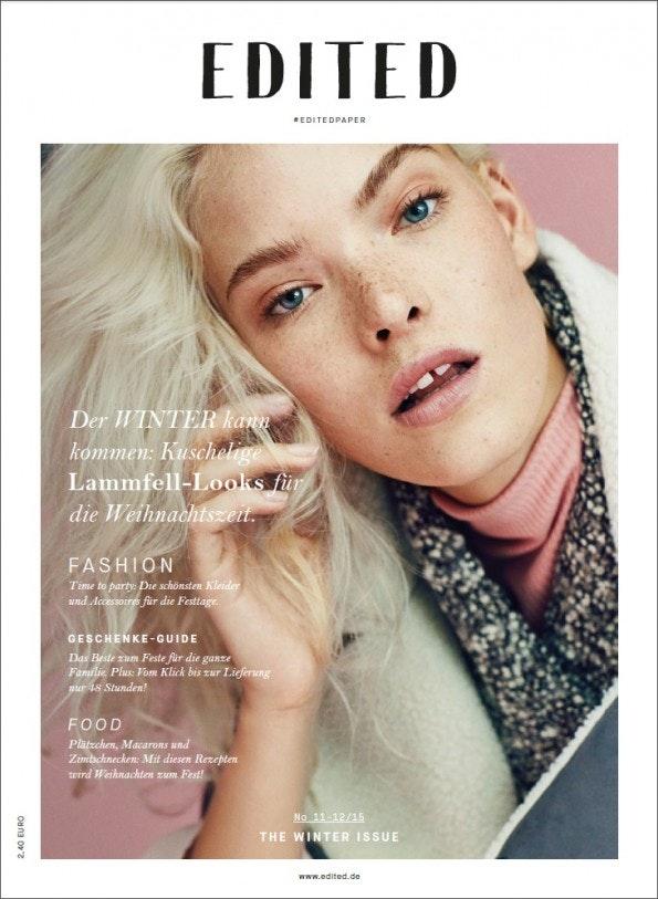 Cover des Edited-Magazins. (Screenshot: Edited)