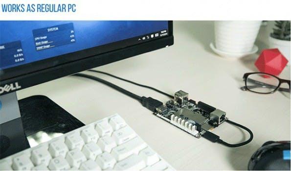 LattePanda soll Windows-10-Computer ersetzen können. (Foto: Kickstarter/LattePanda)