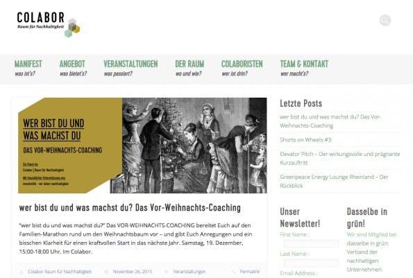 """Der Kölner Coworking-Space """"Colabor"""" ist auf nachhaltige Themen und Projekte spezialisiert."""
