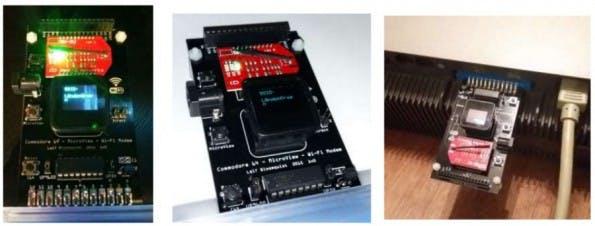 Mit diesem Modul könnt ihr euren C64 mit dem WLAN verbinden. (Foto: Leif Bloomquist)