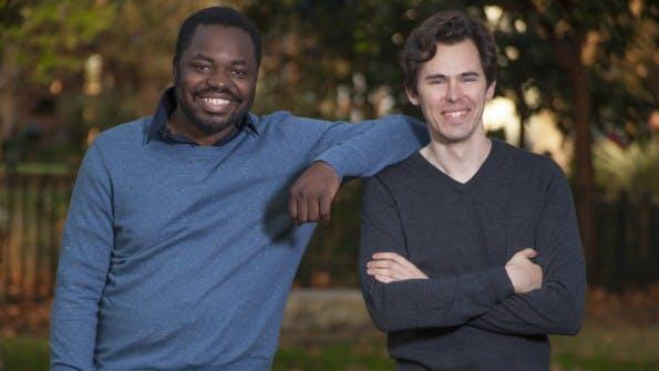 Die Gigster-Gründer Debo Olaosebikan und Roger Dickey. (Foto: Presse)