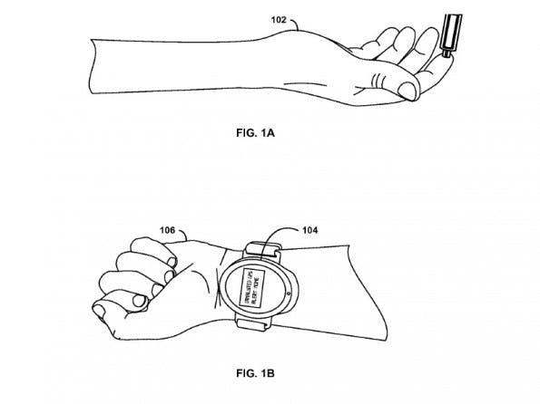 Ein Google-Patent will Blutabnahmen ohne Nadel möglich machen.