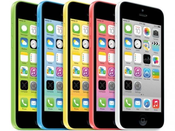 Vorgeschobener Stein des Anstoßes: ein iPhone 5c. (Foto: Apple)