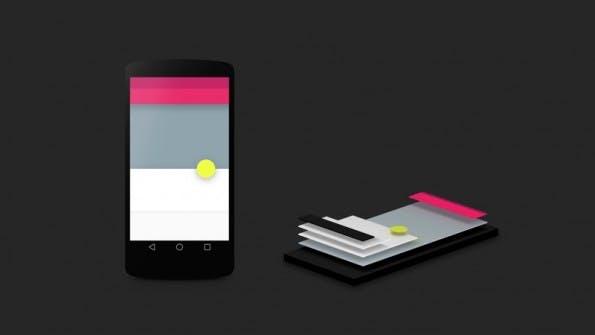 Material-Design von Google. (Grafik: Google Developer Blog)