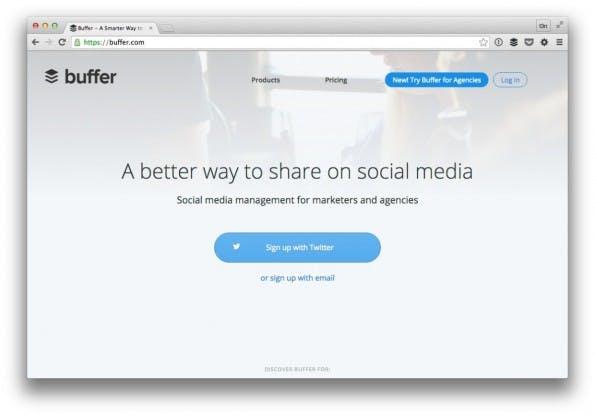 Der Klassiker unter den Social-Media-Tools. (Screenshot: t3n)