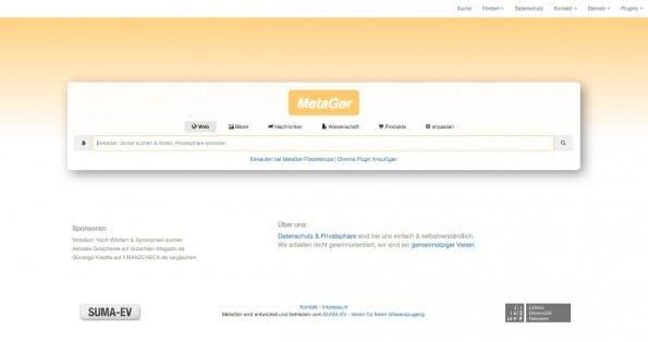 Kann das sein? MetaGer soll auch Links zu Namen löschen, die dem der Klägerin ähneln. (Screenshot: MetaGer.de)