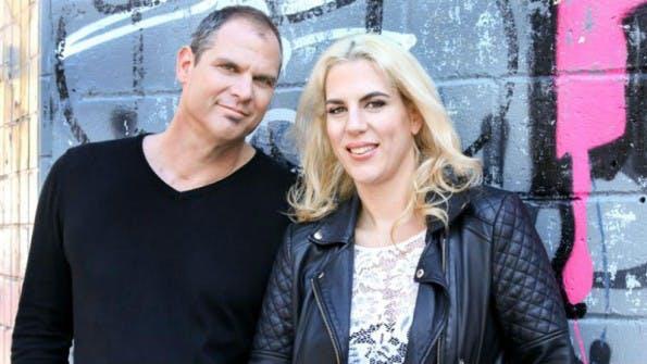 Die NameFace-Gründer Steve Eichner und Daniela Kirsch. (Bild: NameFace)