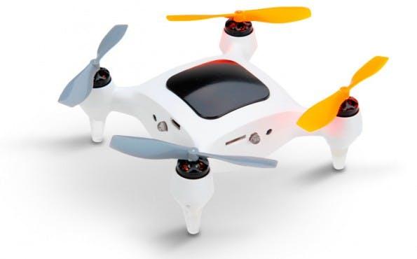 ONAGOfly: Die Mini-Drohne soll auf eurer Hand landen können. (Grafik: ONAGOfly)