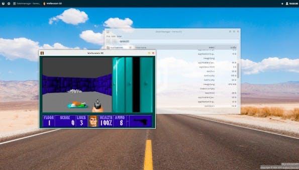 OS.js ist ein vollständiges Desktop-System für das Web. (Screenshot: OS.js)